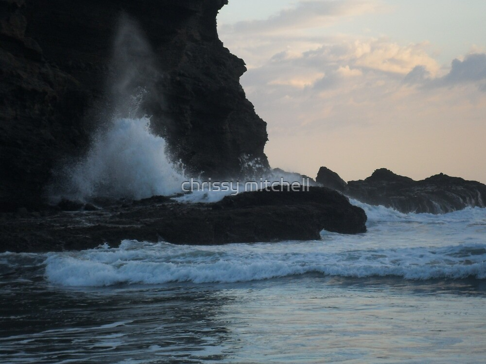 sea spray  by chrissy mitchell