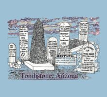 Boot Hill in Tombstone, Arizona One Piece - Short Sleeve