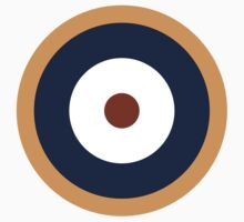 Royal Air Force - Historical Roundel Type A.2 1940 - 1942 One Piece - Short Sleeve