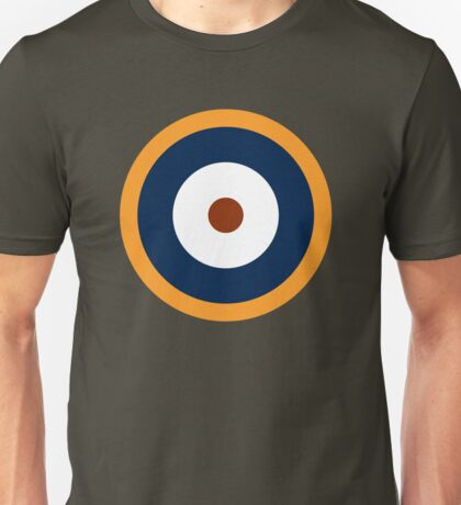 Royal Air Force - Historical Roundel Type A.2 1940 - 1942 Unisex T-Shirt