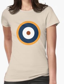 Royal Air Force - Historical Roundel Type A.2 1940 - 1942 Womens Fitted T-Shirt