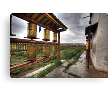 The Erdene Zuu Monastery Canvas Print