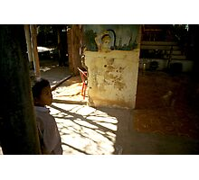 the present, oudong, cambodia Photographic Print