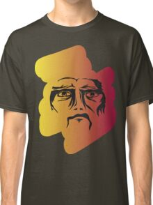 Colourful Angry Face Classic T-Shirt