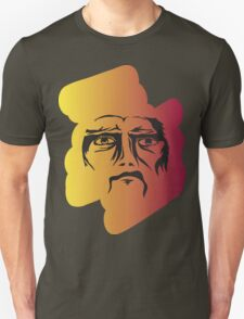 Colourful Angry Face Unisex T-Shirt