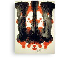 INKBLOT # 042 Canvas Print