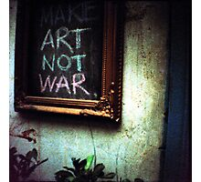 art not war, siem reap, cambodia Photographic Print
