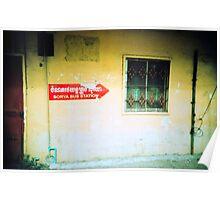 terminal, phnom penh, cambodia Poster