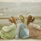 trois belles femmes de la mer by Carol Knudsen