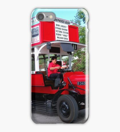 Old London Bus iPhone Case/Skin