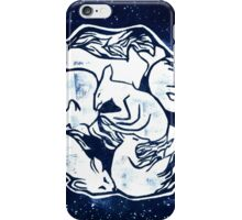 World of Foxes (one color) iPhone Case/Skin