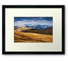 The Jaws of Borrowdale - Cumbria UK Framed Print
