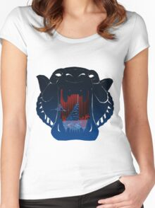The Cave of Wonders  Women's Fitted Scoop T-Shirt