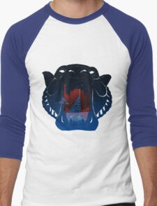 The Cave of Wonders  Men's Baseball ¾ T-Shirt