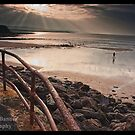 Lahinch Beach Walk, County Clare, Ireland by Noel Moore Up The Banner Photography