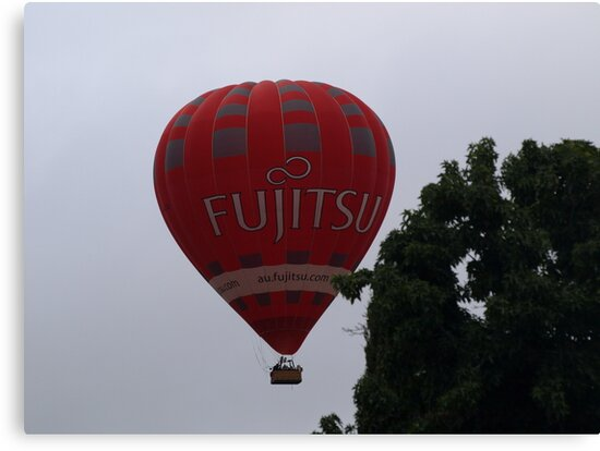 Balloon over my suburb. by shortshooter-Al