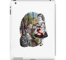 Cats Are Tyrants (color version) iPad Case/Skin