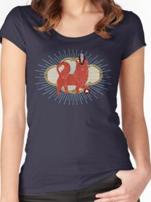 Deluxe Dog Women's Fitted Scoop T-Shirt