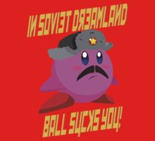 In Soviet Dreamland, Ball Sucks You - Kirby by James Battershill