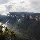 Grose Valley from Anvil Rock NSW Australia by Bev Woodman