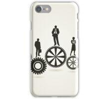 Business a gear wheel iPhone Case/Skin