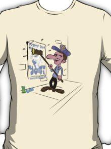 usa new york yeti tshirt by rogers bros co T-Shirt