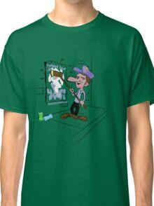 usa new york yeti tshirt by rogers bros co Classic T-Shirt