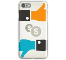 Business a hand iPhone Case/Skin