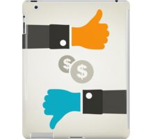 Business a hand iPad Case/Skin
