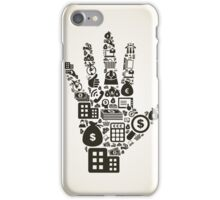 Business a hand2 iPhone Case/Skin