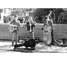 Busking 7 Photographic Print