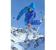 ski jumper Photographic Print