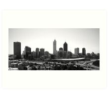 Perth City Art Print