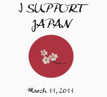 I support Japan by Olga