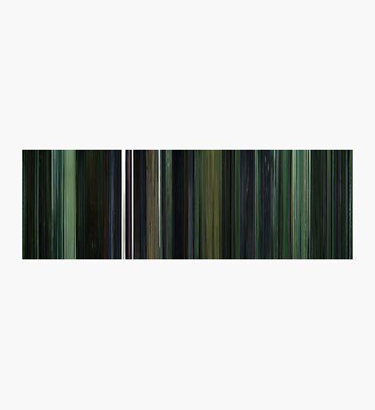 Moviebarcode: The Matrix (1999) Photographic Print