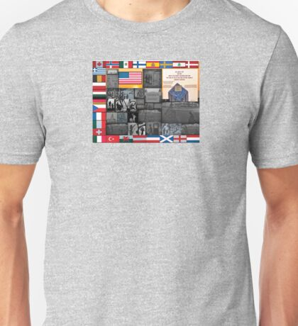Butte Montana -The Granite Mountain Disaster and Memorial Overlook Unisex T-Shirt