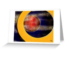 Fly through the Universe Greeting Card