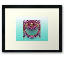 Golden Delicious Apple in the Sea  (UF0173) Framed Print
