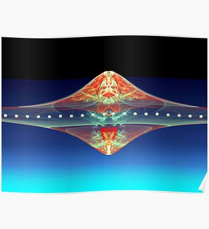 Scarlet UFO  (UF0175) Poster