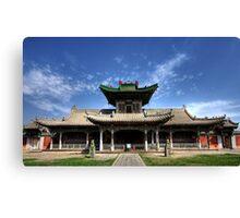 Winter Palace at Ulaanbaatar Canvas Print
