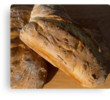 Two Loaves of Bread Canvas Print