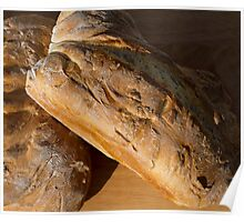 Two Loaves of Bread Poster