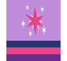 Twilight Sparkle Cutie Mark Special V2 Photographic Print