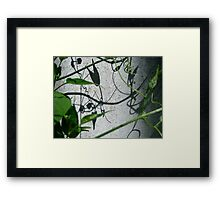 the parade of whimsical devices Framed Print