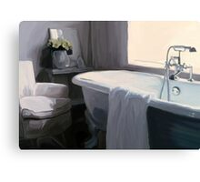 """Tub in Grey"" Canvas Print"
