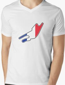 Bugatti Circuit Mens V-Neck T-Shirt