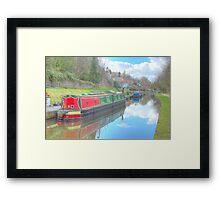 Llangollen Canal View Framed Print