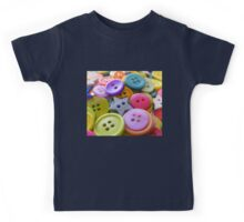 Buttons and Buttons Kids Tee