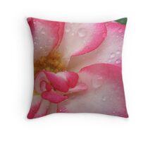 Amusing rose Throw Pillow