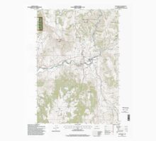 USGS Topo Map Oregon Monument 280784 1995 24000 One Piece - Short Sleeve